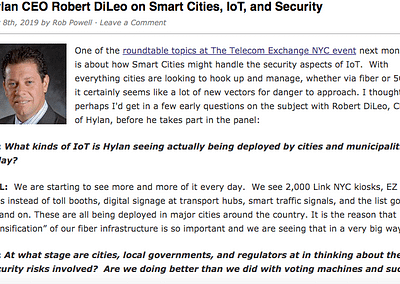 Interview with Robert DiLeo. A preview of TEX NYC.
